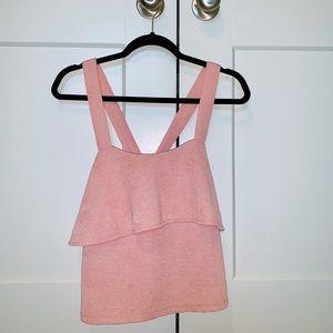 Pink Madewell Top